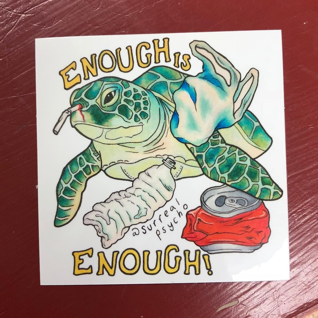 Stickers Are Here Show Off The Truth About Our Seas 3x3