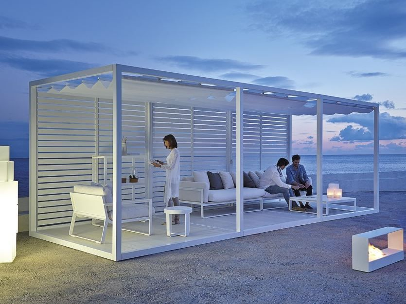 Download the catalogue and request prices of Module retractable roof By  gandia blasco, freestanding aluminium pergola with sliding cover design  José Antonio ... - Download The Catalogue And Request Prices Of Module Retractable Roof