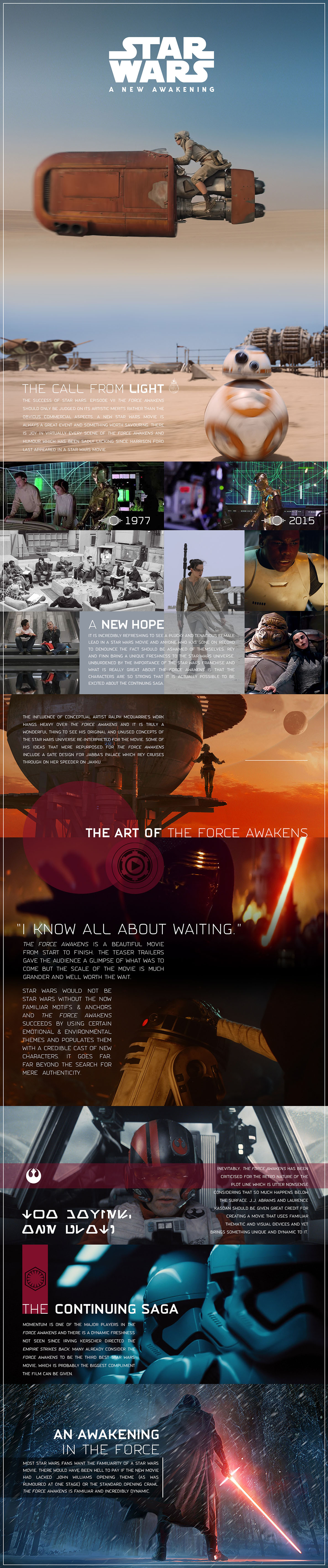star wars the force awakens info graphic visual essay by star wars the force awakens info graphic visual essay by kristian goddard