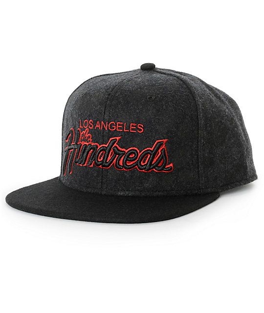 The Hundreds Forever Team Hyena Snapback Hat  748263622a6c