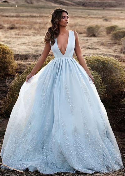 49e93eb0778 Blue Ball Gown
