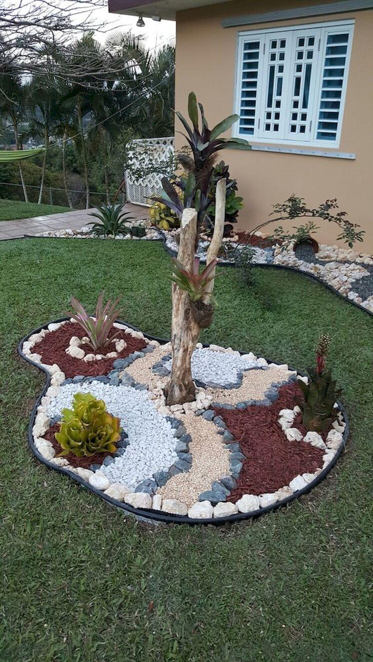 70 Magical Side Yard And Backyard Gravel Garden Design