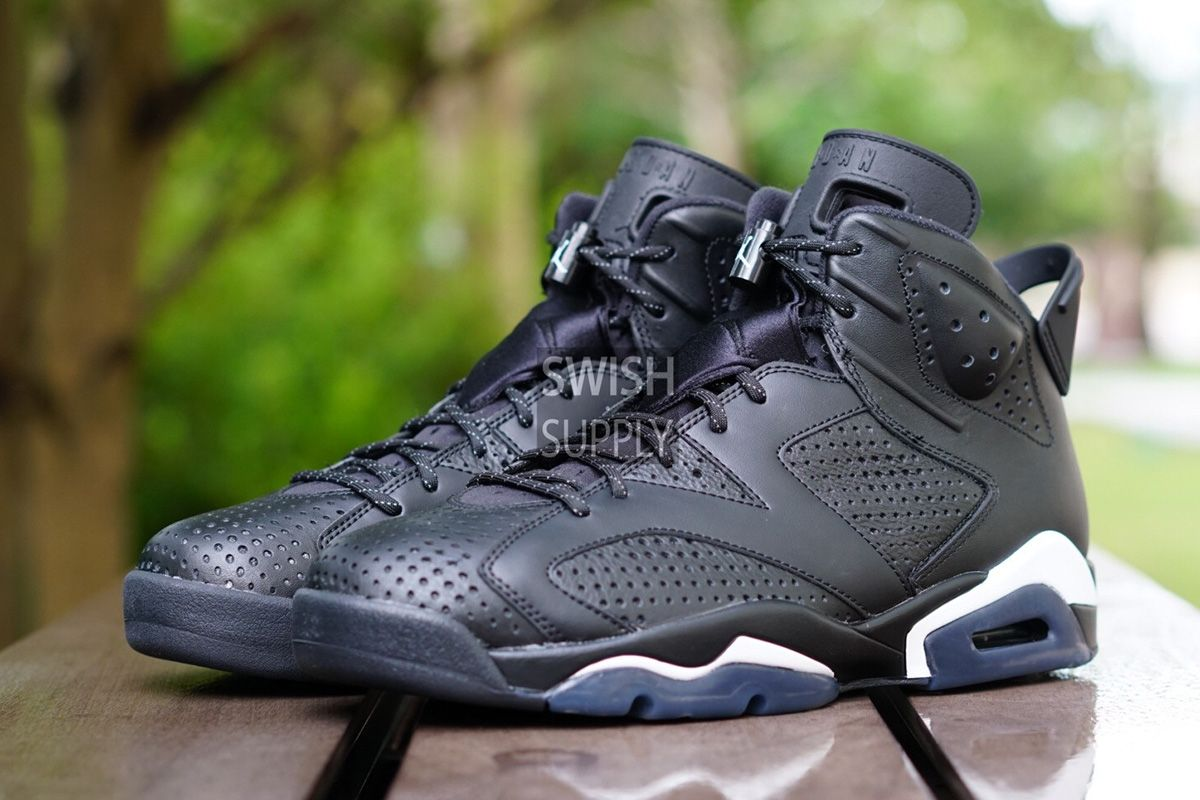 "sale retailer 9bd55 0d255 Air Jordan 6 Retro ""Black Cat"" (Detailed Preview Pics) - EU Kicks  Sneaker  Magazine"