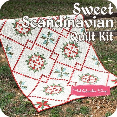 Sweet Scandinavian Quilt Kit<BR>Featuring Winterlude by 3 Sisters ... : three sisters quilt shop - Adamdwight.com