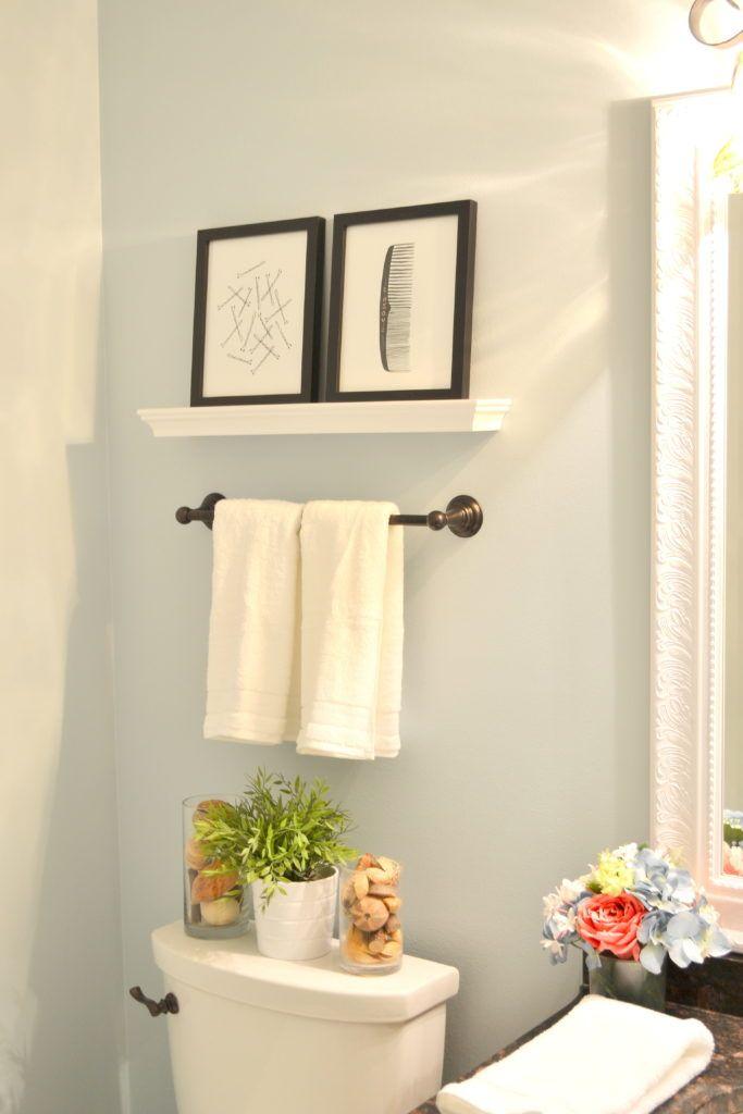 Powder Room Update The Cofran Home Powder Room Decor Bathroom