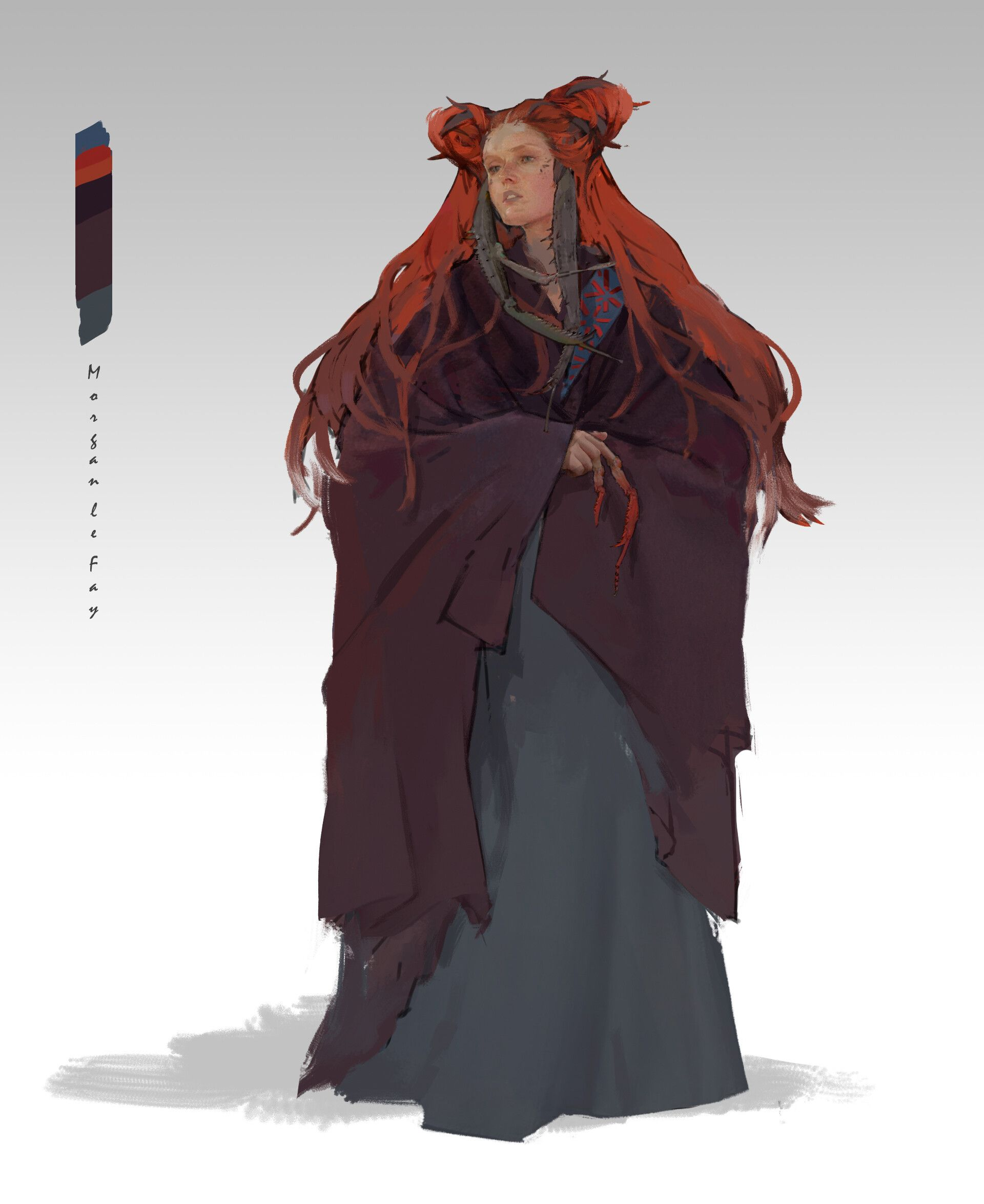ArtStation , The Legend of King Arthur Character Design