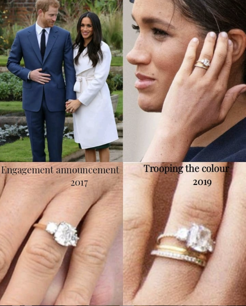meghan markle gave her engagement ring a fresh update dress like a duchess meghan markle engagement ring royal engagement rings royal rings meghan markle gave her engagement ring