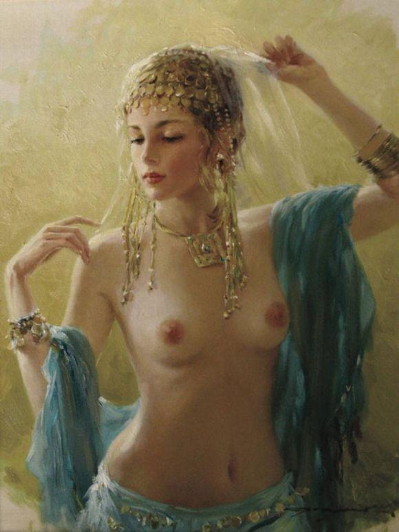 Konstantin Razumov (b.1974,Moscow - ...) Russian Painter  ia