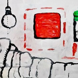 Philip Guston: In bed