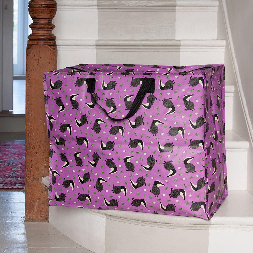 Mr Badger Design Jumbo Storage Bag | dotcomgiftshop | Winter Sale Now On & Mr Badger Design Jumbo Storage Bag | dotcomgiftshop | Winter Sale ...