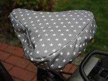 Fahrradsattelbezug regenfest und kuschelig