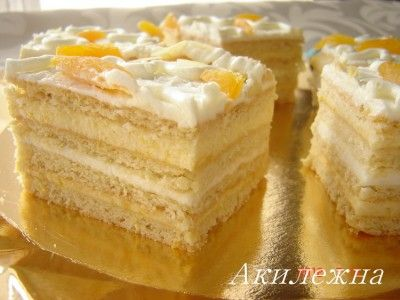 рецепт пирожных солнечные
