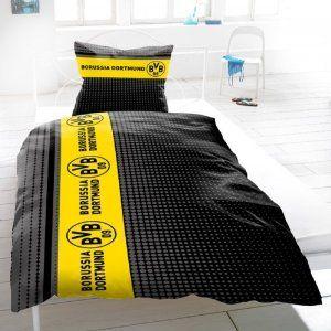 Bvb Borussia Dortmund Bettwasche Streifenpunkte Ogott Ich Kann
