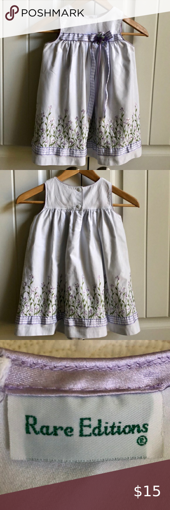 2 24 Rare Editions Embroidered Dress 4t In 2020 Rare Editions Dress Purple Girls Dress Toddler Girl Dresses [ 1740 x 580 Pixel ]