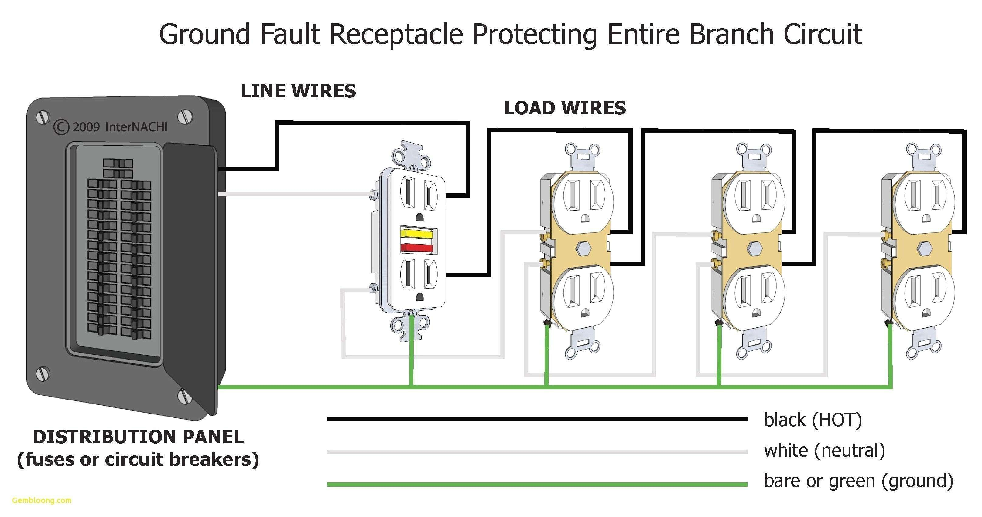 Wiring Diagram Outlets Electrical circuit diagram, House