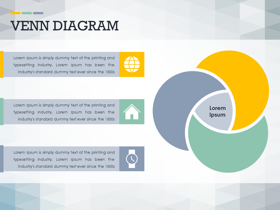 venn diagram powerpoint slide #presentationdesign #slidedesign, Modern powerpoint