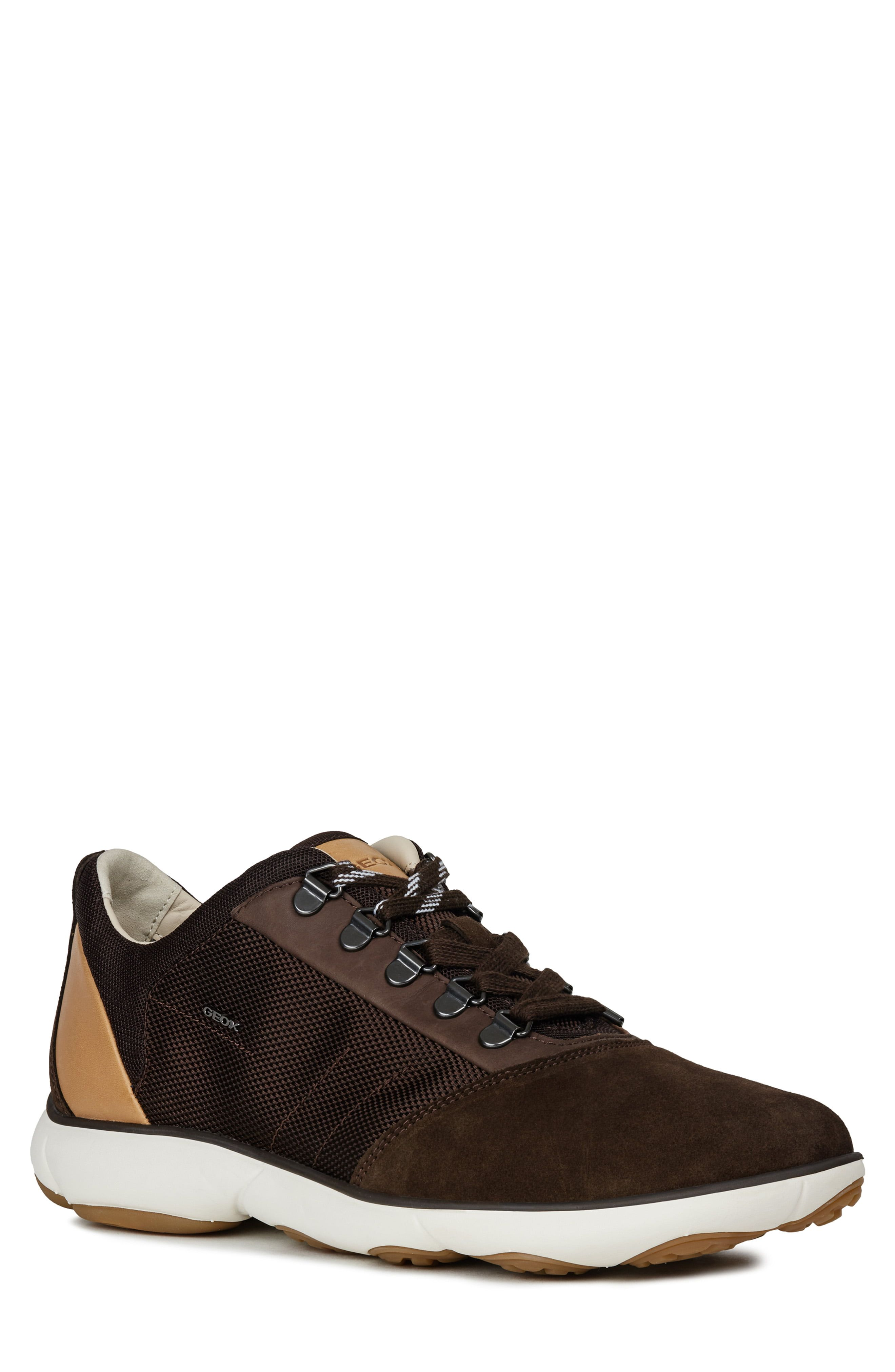 Geox Nebula 56 Sneaker | Products in 2019 | Sneakers, Brown