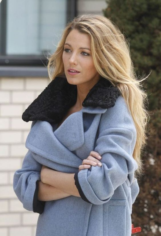 Reine des cheveux longs: Blake Lively #blakelively