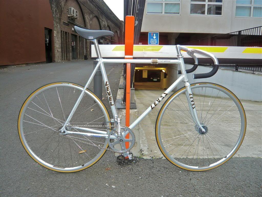 For Sale Level Super Professional Njs Track Bike 56cm Almost