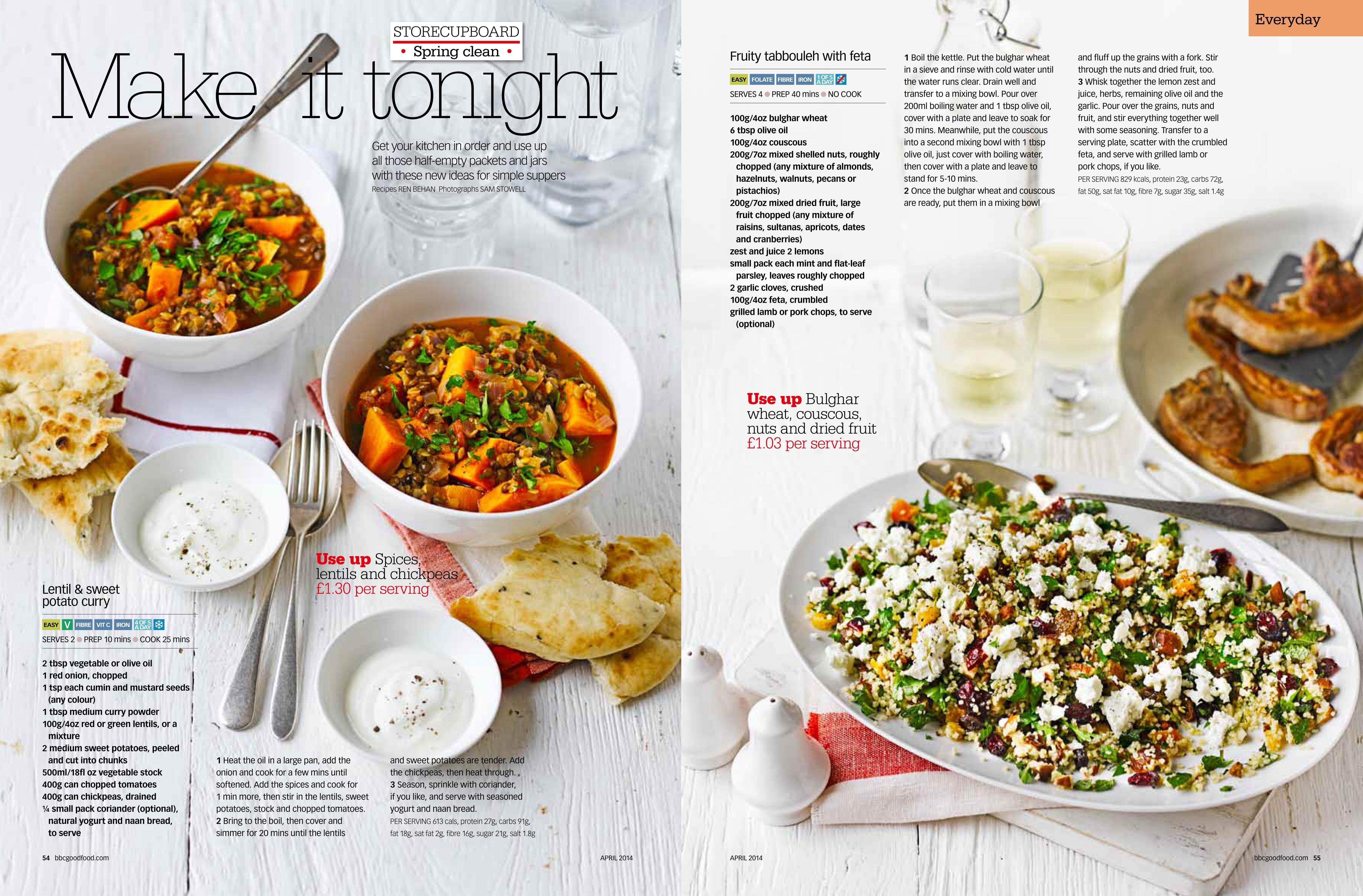 Simple easy recipes magazine