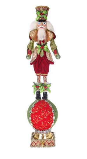 Own it or give it as a gift, either way this Festive Solder Nutcracker Stocking Holder Mark Roberts Christmas Collectible is an absolute beauty To view a larger image of the product, please click on the image on the left.Additional product information bellow.