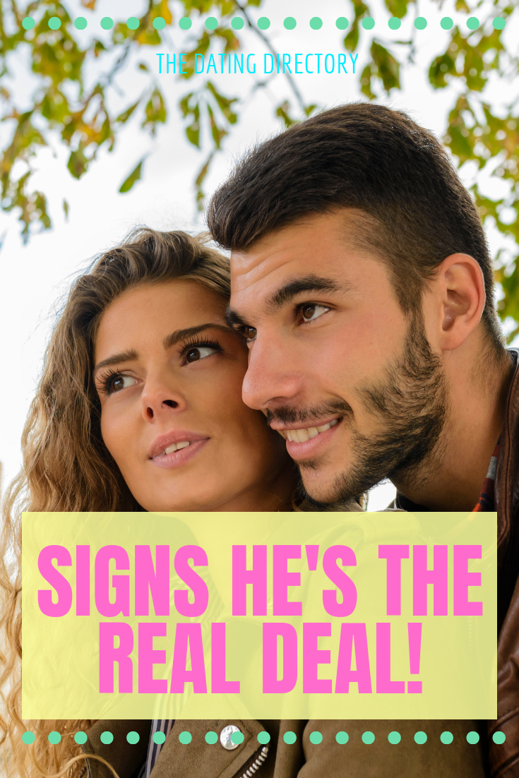How to tell he's a genuine guy ; here are the signs