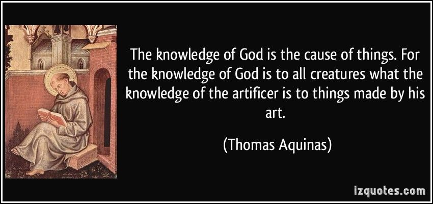 Thomas Aquinas Quotes On Education. QuotesGram | Thomas aquinas ...