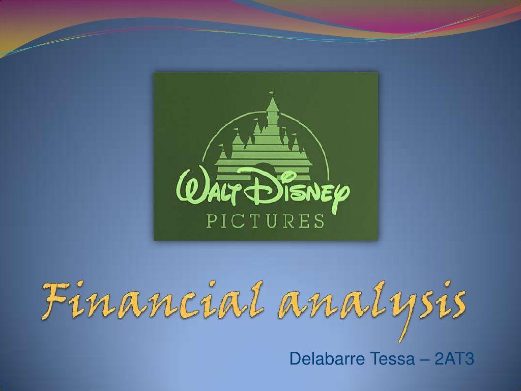 FinancialAnalysisOfTheWaltDisneyCompany By