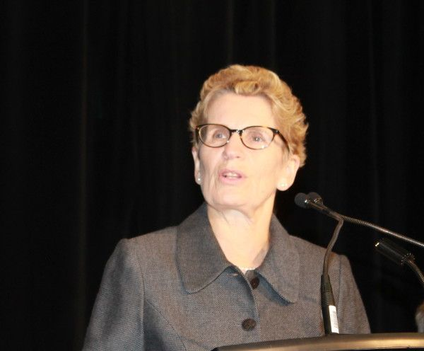 Wynne Announces Cap and Trade System