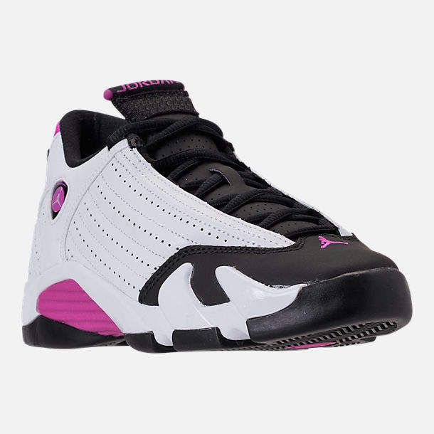 8df82531206 Girls' Big Kids' Air Jordan Retro 14 Basketball Shoes in 2019 | Yup ...