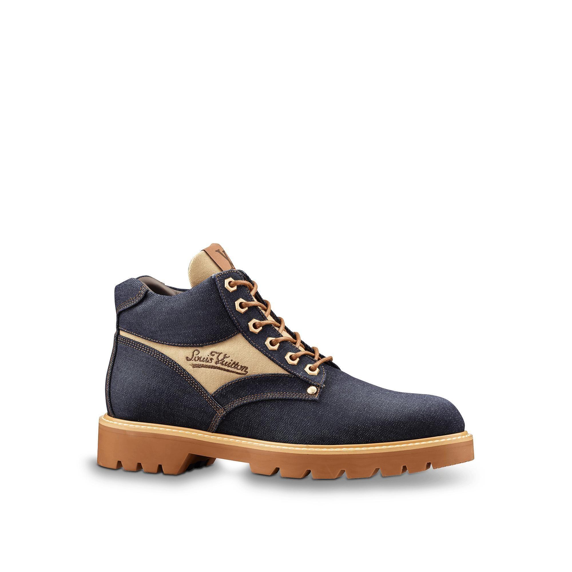 9412910869 LOUIS VUITTON Oberkampf Ankle Boot. #louisvuitton #shoes | Louis ...