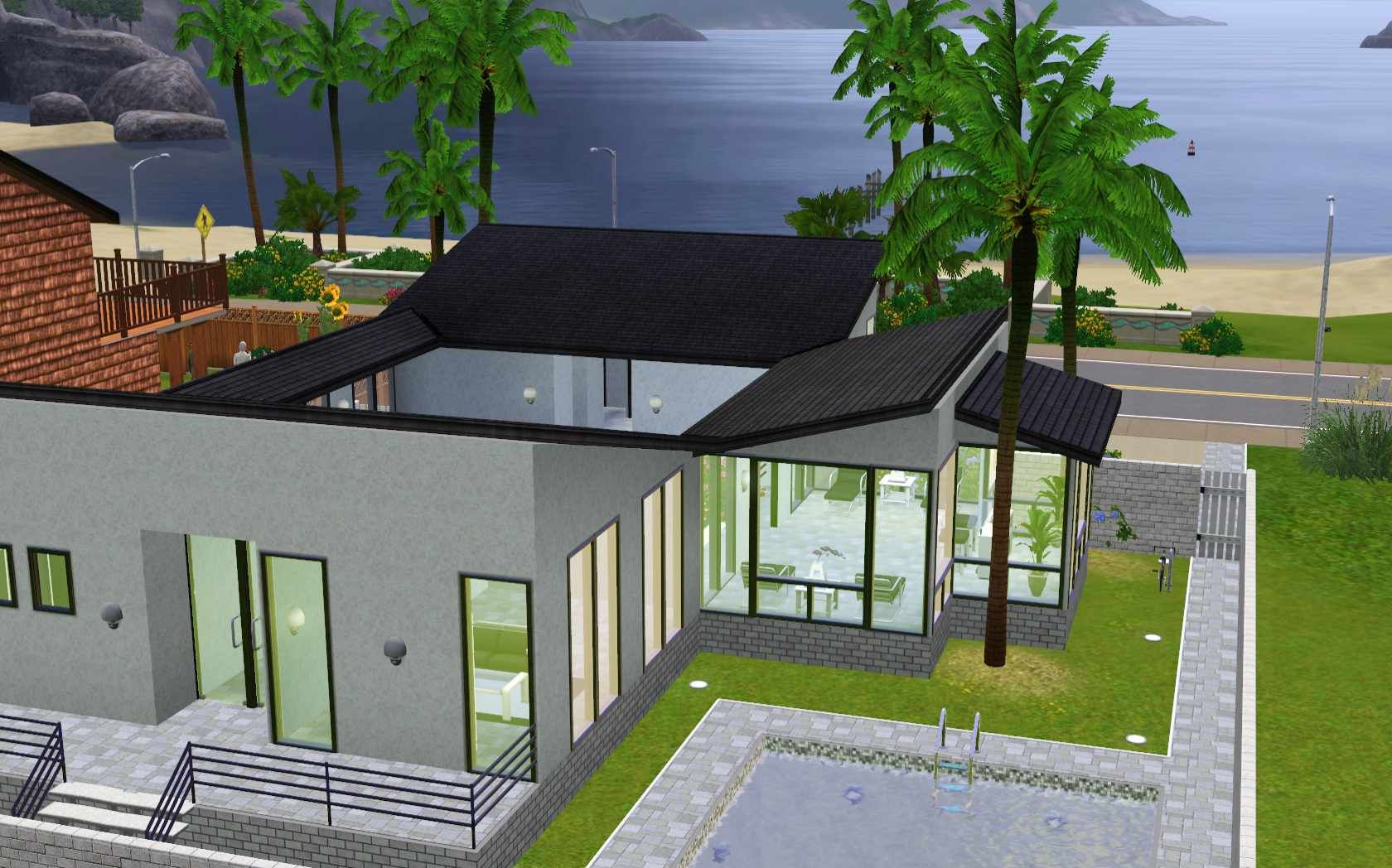 Image gallery sims 3 homes for Best house designs sims 4