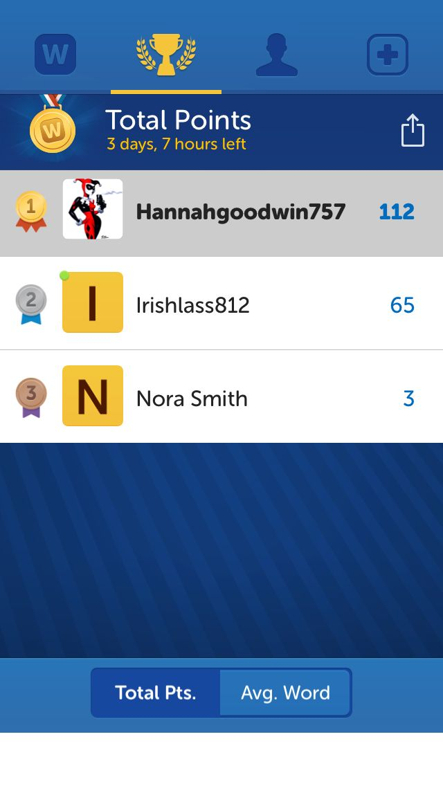 Check Out My Position On The Words With Friends Leaderboard Im 1st