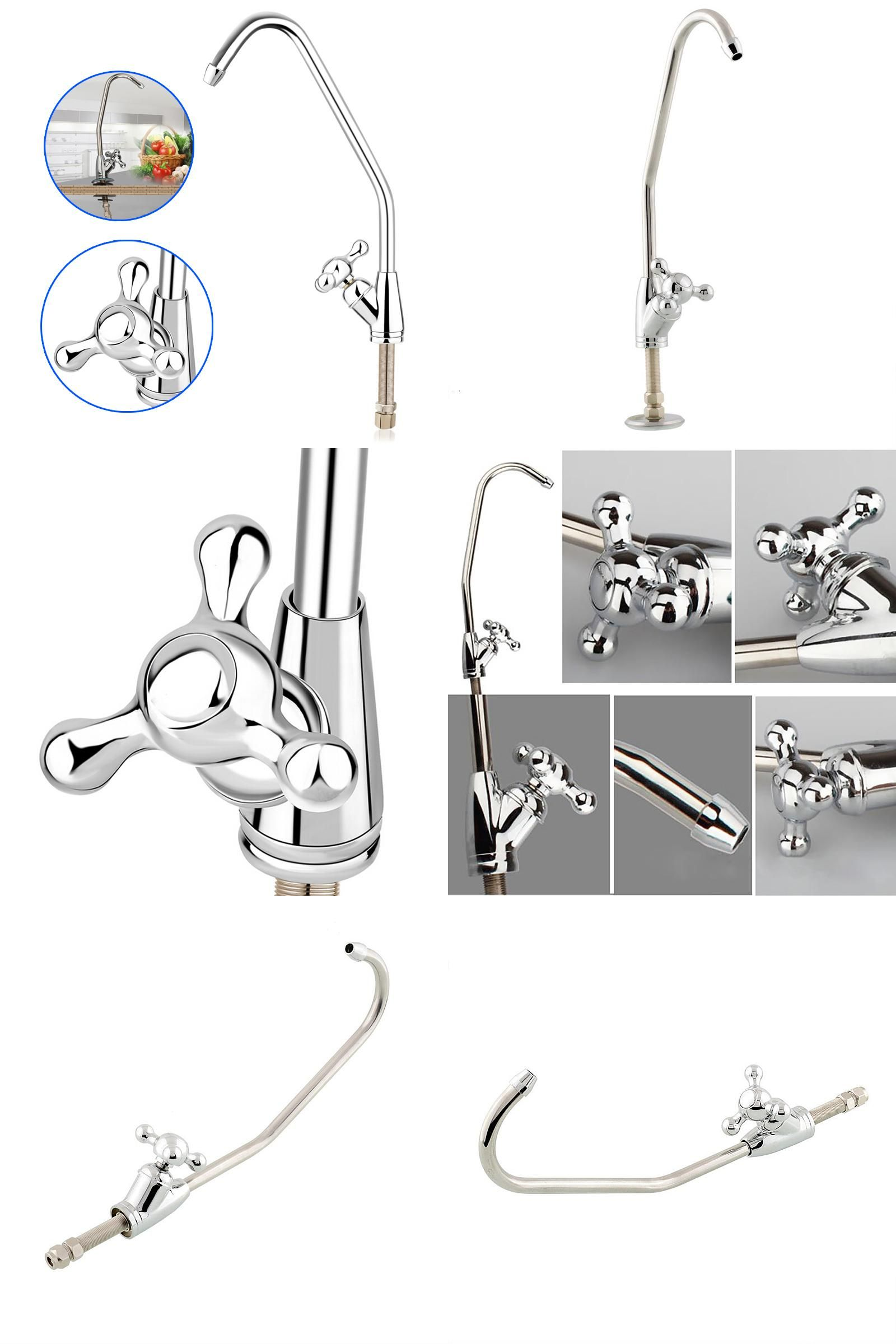 Visit to Buy] Reverse Osmosis Water Filter Sink Faucet Tap Brushed ...