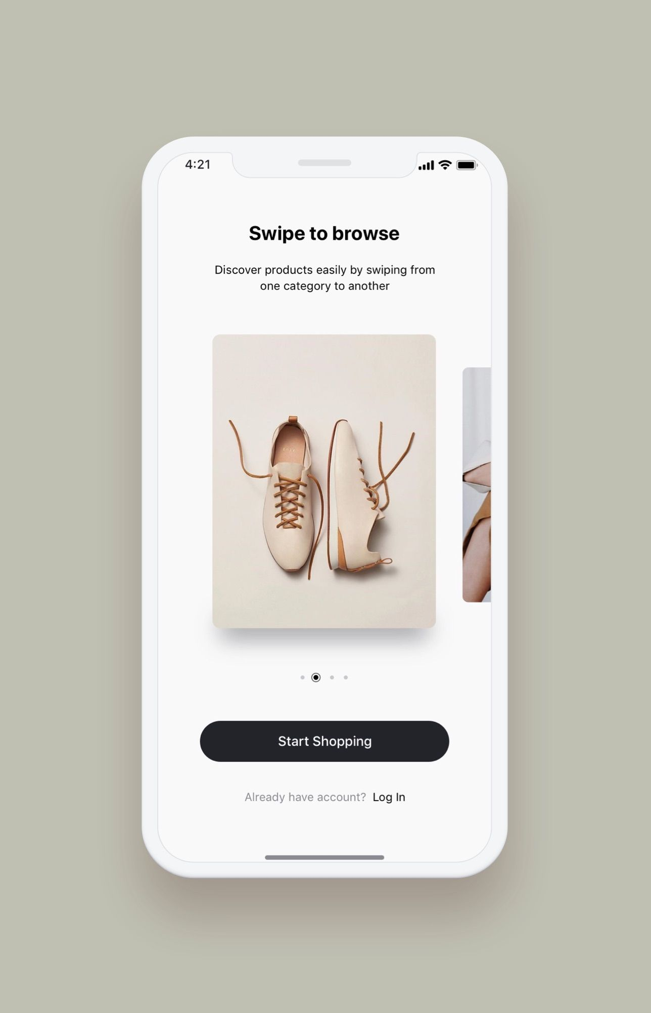 Hermes Fitness Mobile App UI Kit