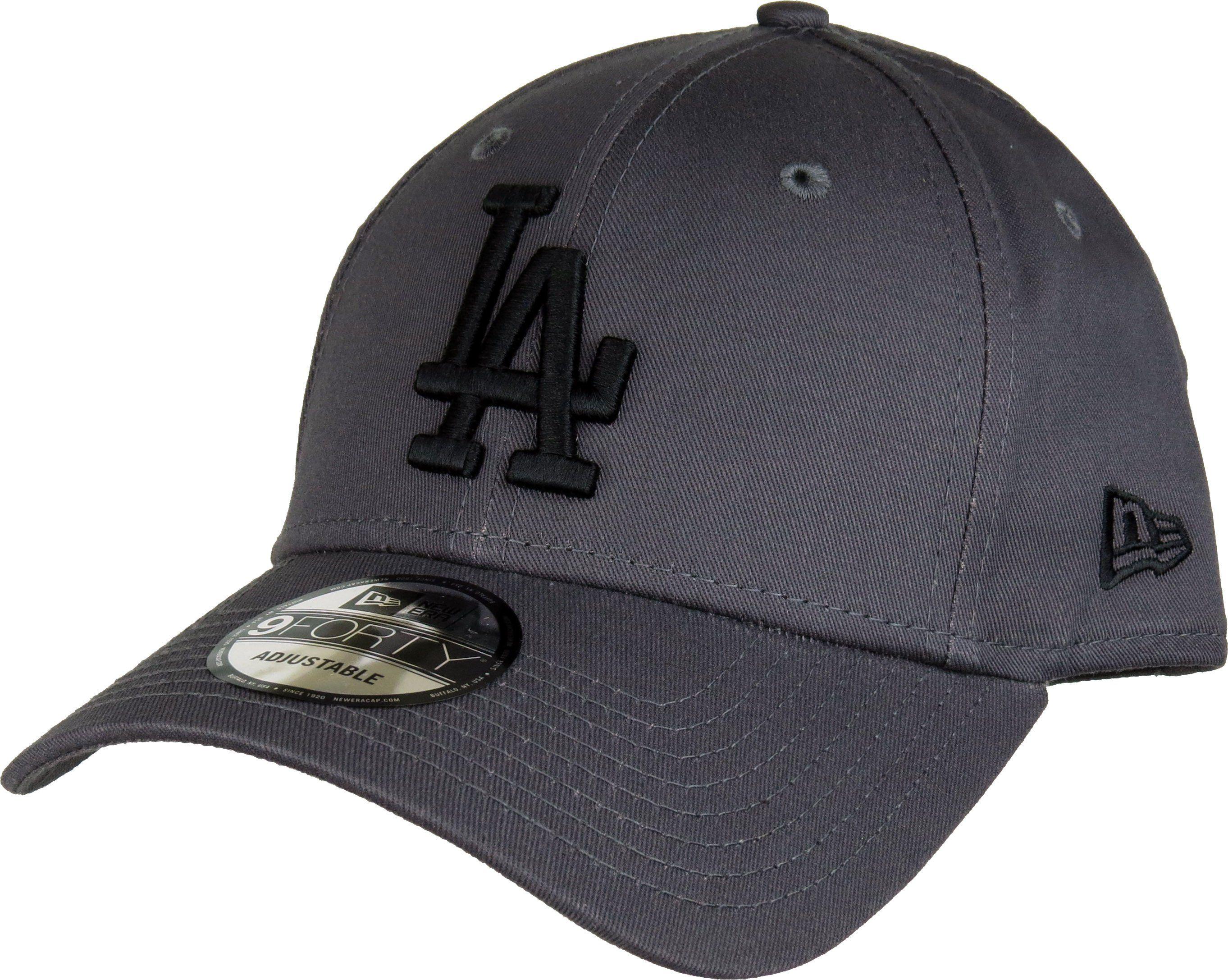 c68331701c7 New Era 940 League Essential LA Dodgers Baseball Cap Grey