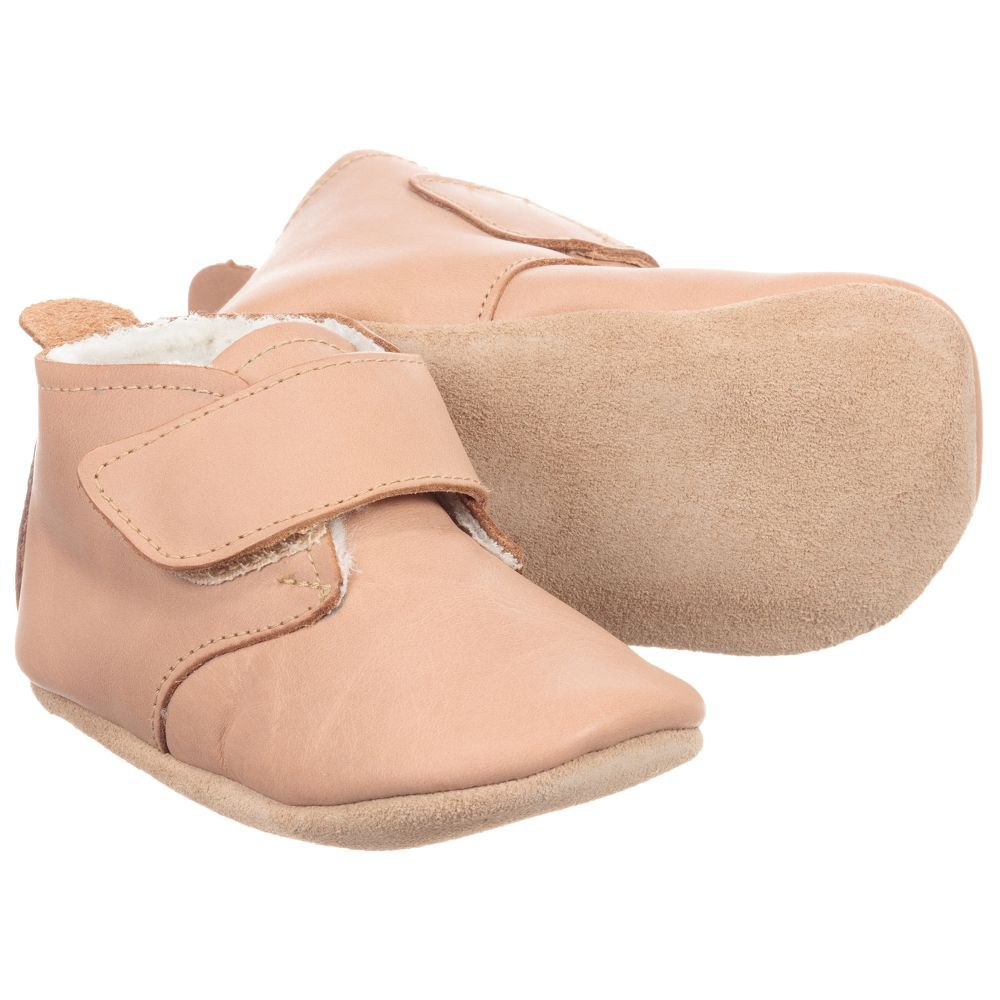 eb566508de6f Bobux Soft Sole Brown Leather Pre-Walker Shoes. Shop from an exclusive  selection of designer Shoes