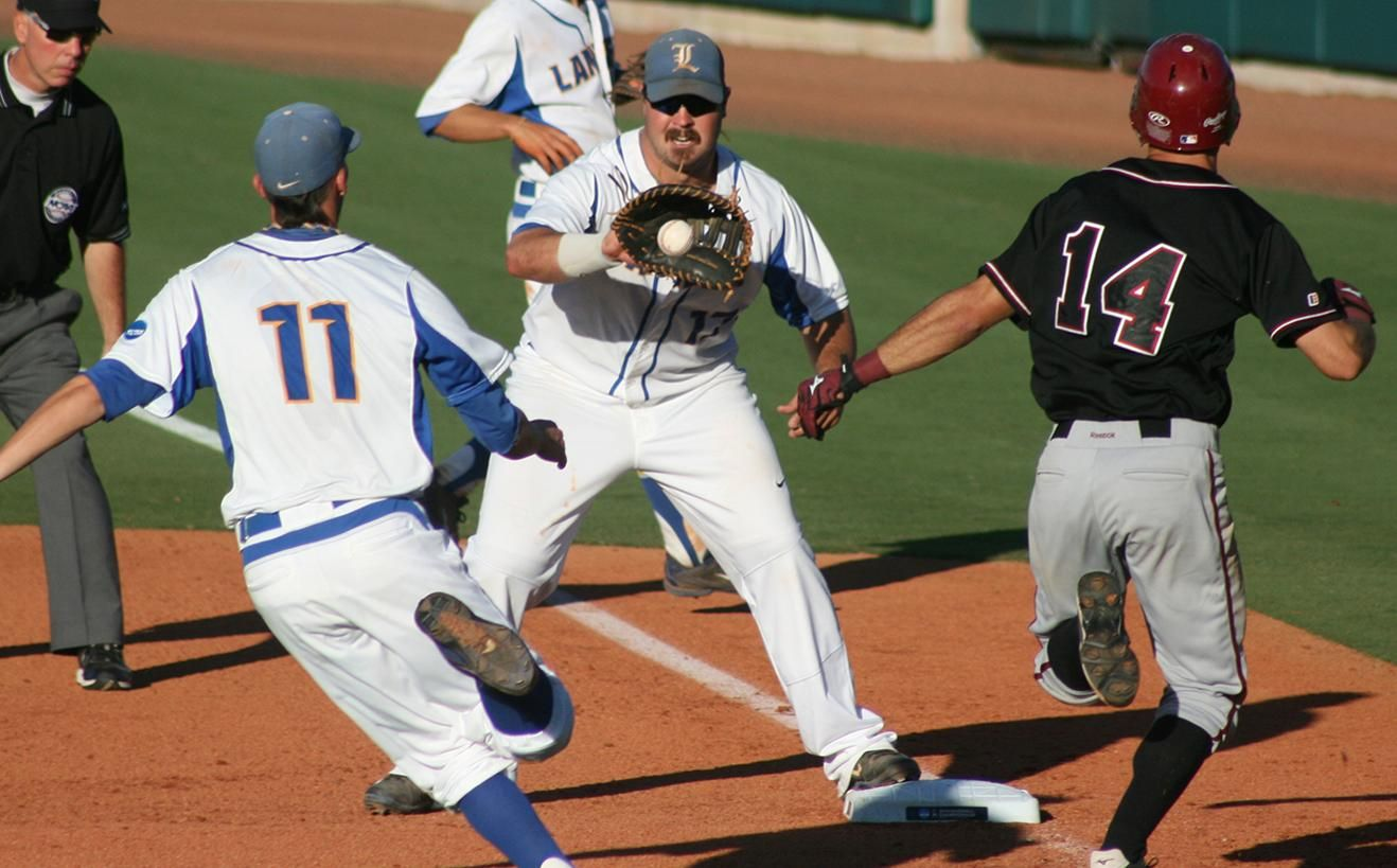 Lander baseball advances past Chico State in NCAA