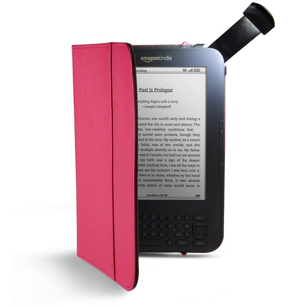 Kindle Cover With Built In Light Amazon Kindle Leather Cover Kindle