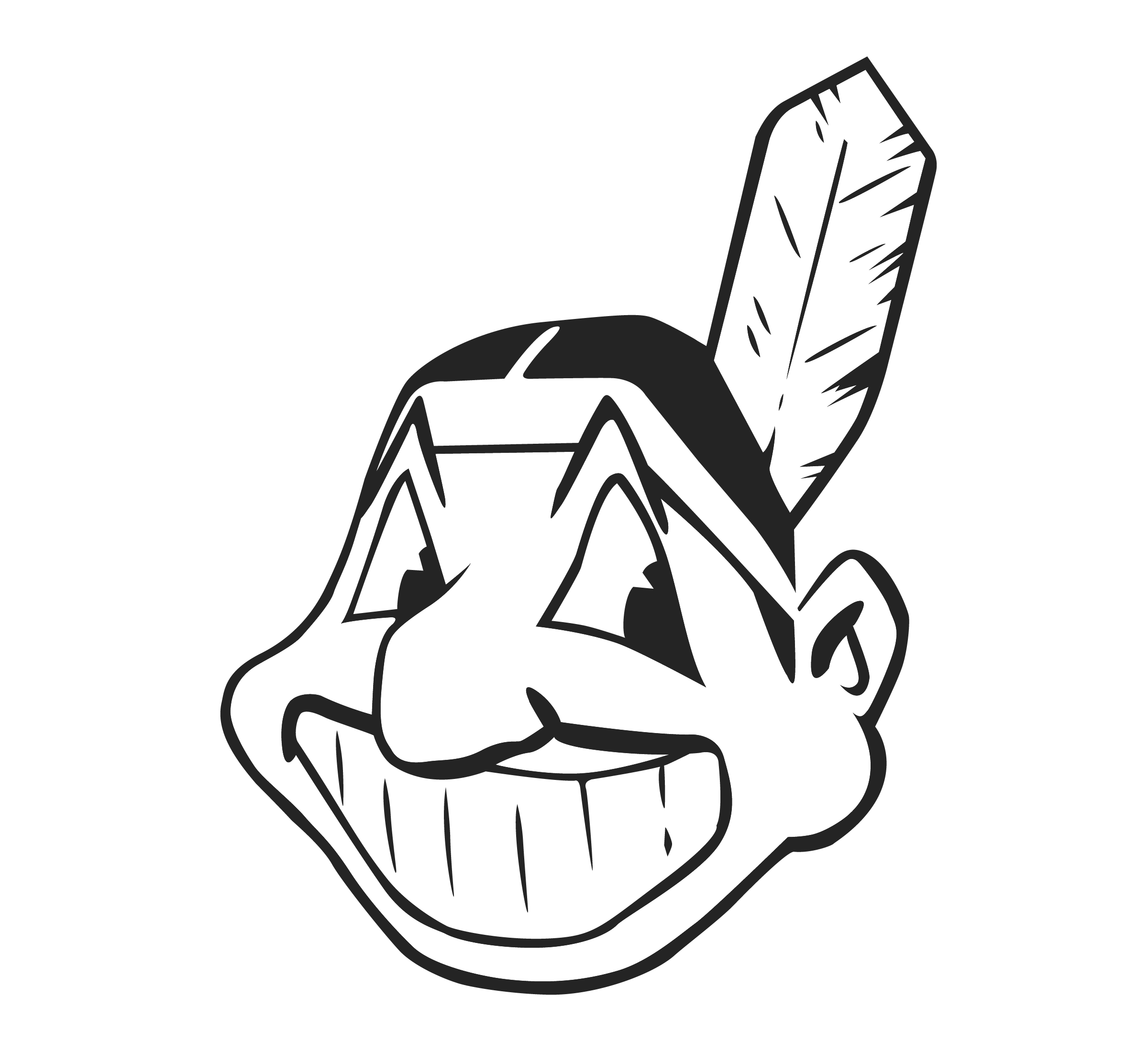 American Indians PNG Image Cleveland indians logo