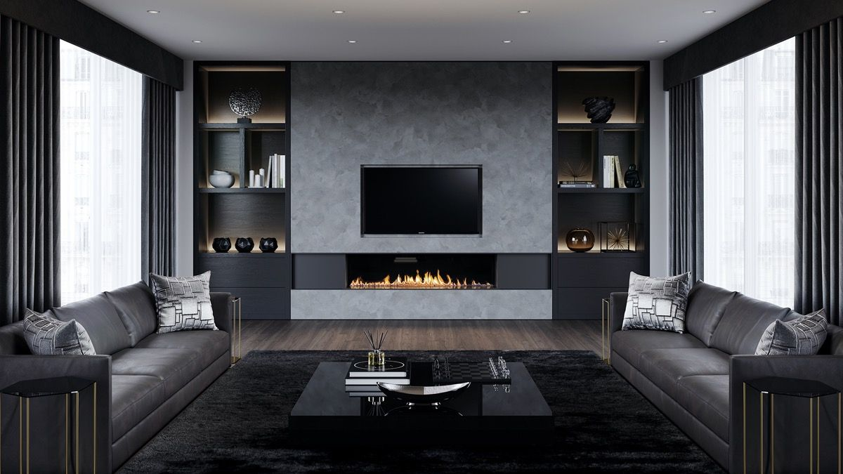 Best 40 Grey Living Rooms That Help Your Lounge Look 640 x 480