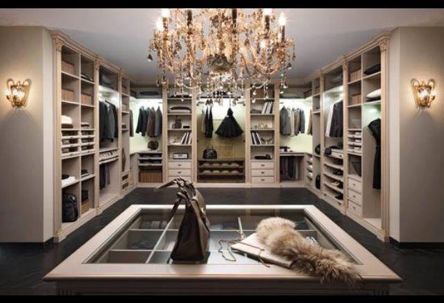 dream closet garde robe de r ve pinterest design dressing et rangement. Black Bedroom Furniture Sets. Home Design Ideas