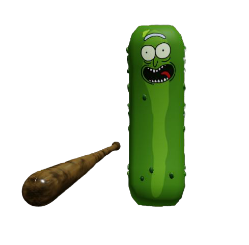 Pickle Rick Is An Exclusive Skin In Piggy Only Minitoon And Evylin Have This Skin So If You See It Be Sure To Take A Screenshot Because Th Piggy Rick Pickles