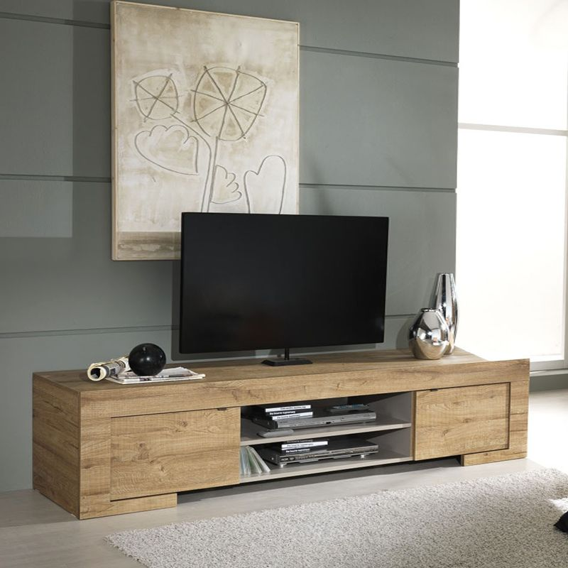 meuble tv couleur bois contemporain hibiscus meuble tv pinterest tvs et hibiscus. Black Bedroom Furniture Sets. Home Design Ideas