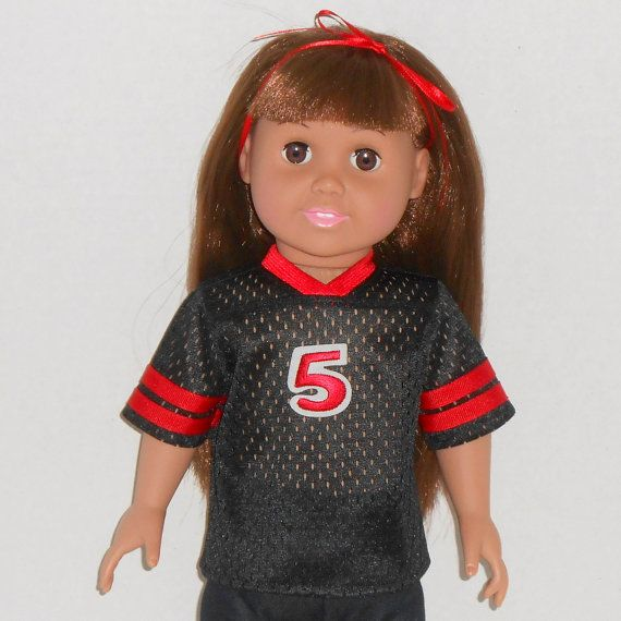 18 inch Girl or Boy Doll Clothes Black and by AmericanDollClothes