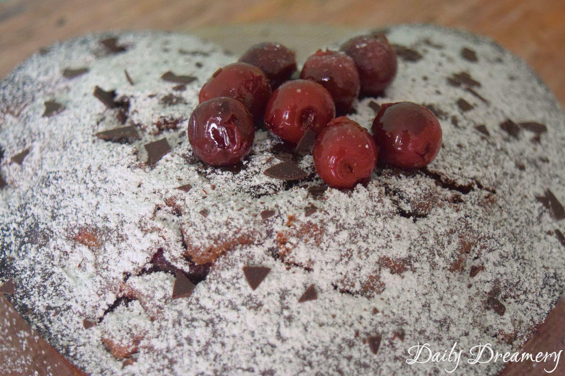 Luftig Lockerer Schoko Kirsch Kuchen Rezept Nachtische