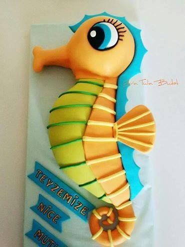 Under the Sea Smash Cake - Rose Bakes