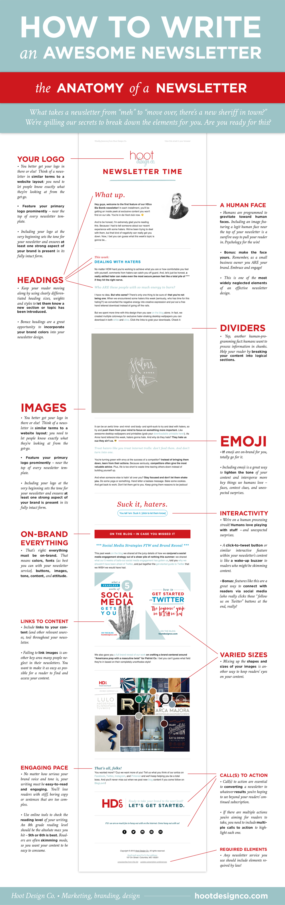 How To Write An Awesome Newsletter Anatomy  Anatomy Trials