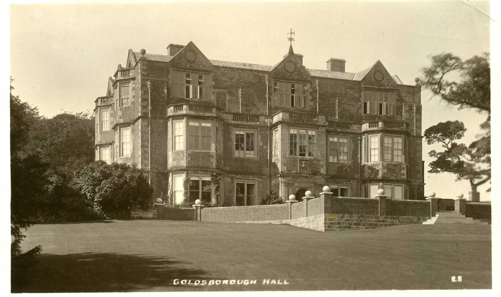 Pin On Goldsborough Hall S Royal History