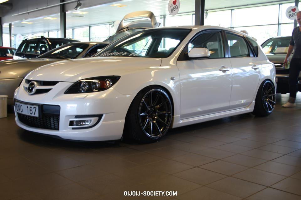 Nice Mazda 3 With Black Rims Mazda 3 Sedan Mazda 3 Mazda Mazda3